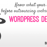 Know what your audience wants before outsourcing website projects to a WordPress Development Company
