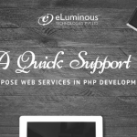 A Quick support to compose Web services in PHP Development