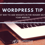 Simple way to add widgets in the header section of your WordPress Website